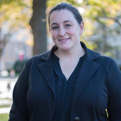 Photograph of Megan Metzger