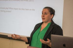 Megan Metzger's CREECA lecture